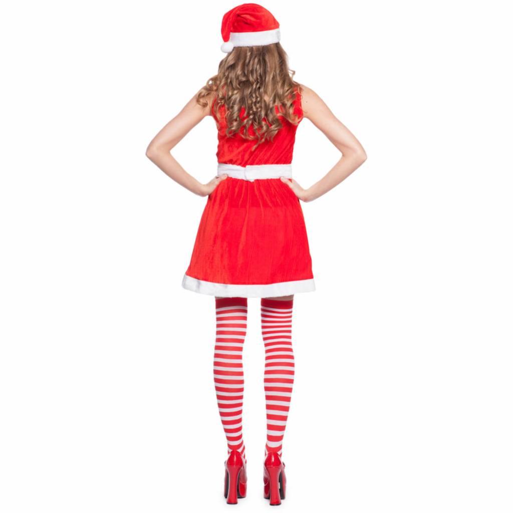 9135d2dc0b7e78 Kerstvrouw Jurkje Rood - Partywinkel.nl