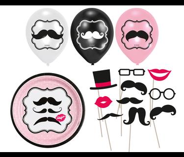 Moustache Versiering