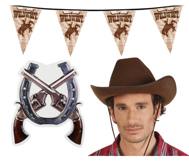 Cowboy Feestartikelen