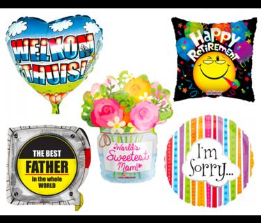 Speciale Boodschap Ballonnen