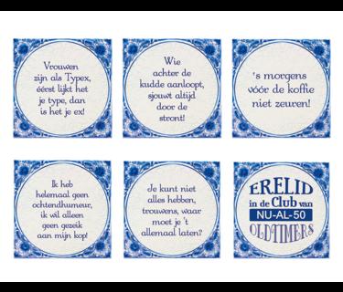 Delfts Blauwe Tegels
