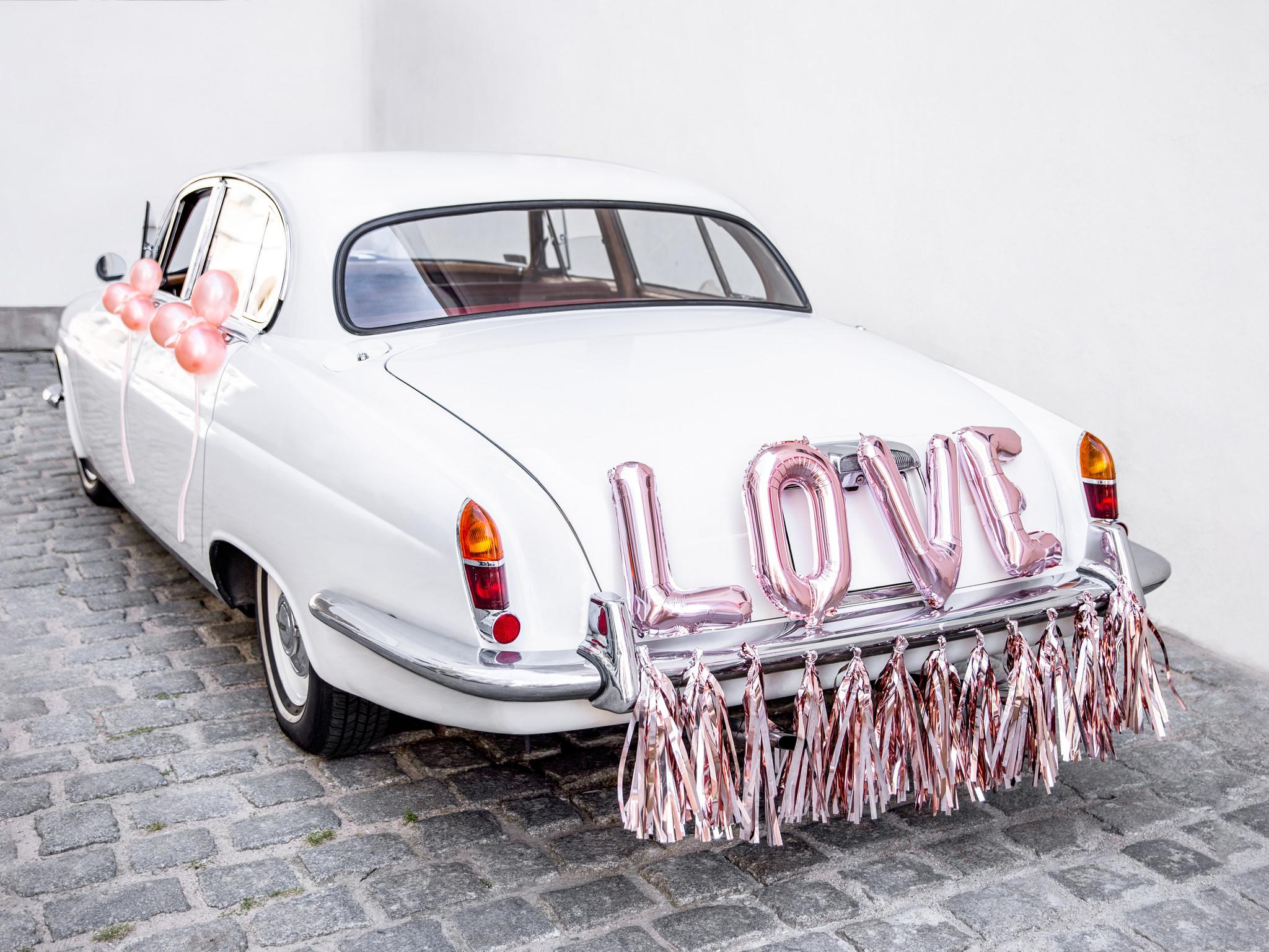 Auto Decoratie Set Bruiloft Rose Goud Partywinkel Nl