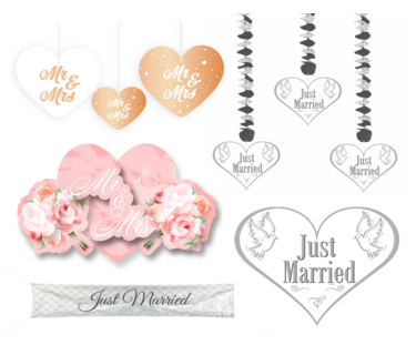Bruiloft Hangdecoratie
