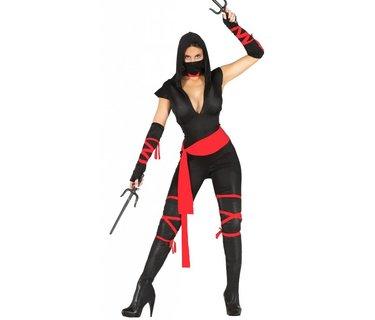 Ninja & Aziatische Kostuums Dames