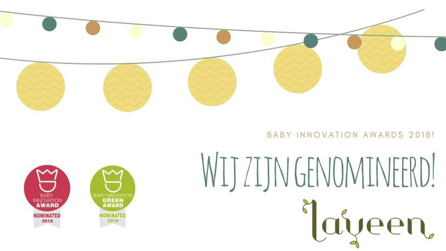Baby Innovation Award 2018 en Green Award 2018 - Nominatie