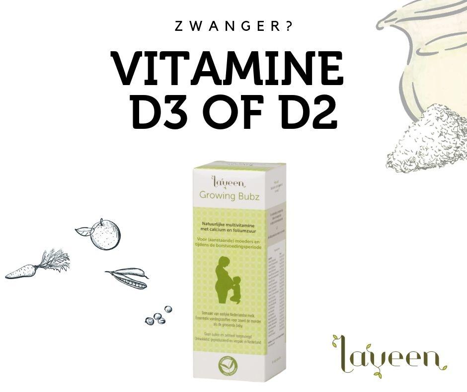 Zwangerschap: Vitamine D3 of D2