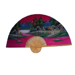 Chinese Fan pink 150 cm