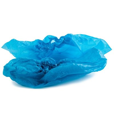 Überschuh PE Blau