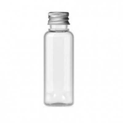 Flacon de 25 ml avec bouchon en aluminium