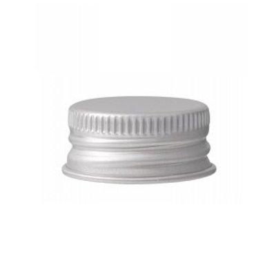 Dop aluminium t.b.v. 100 ml aluminium fles