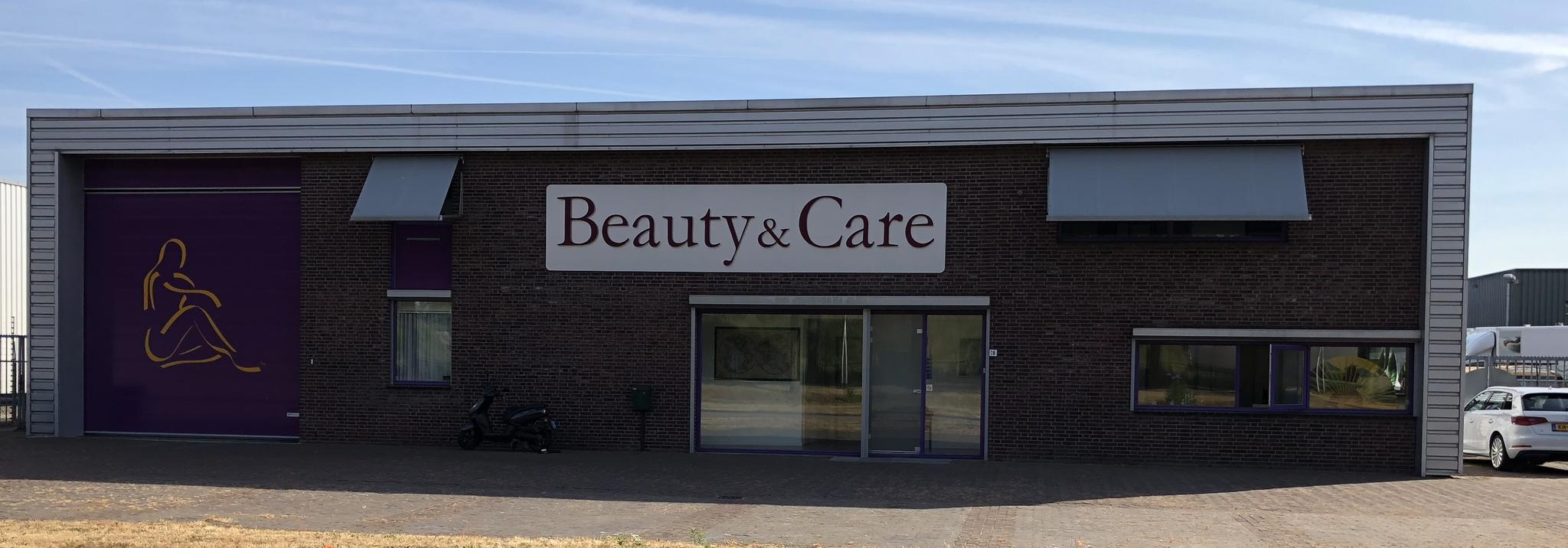 Beauty & Care vestiging. Hier produceren we al onze wellness producten