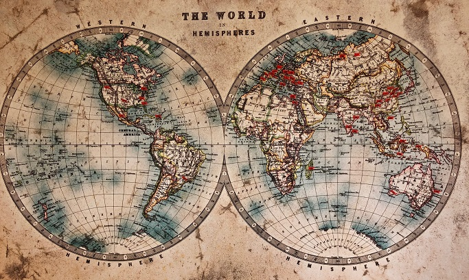 etherische olie wordt gewonnen over de hele wereld