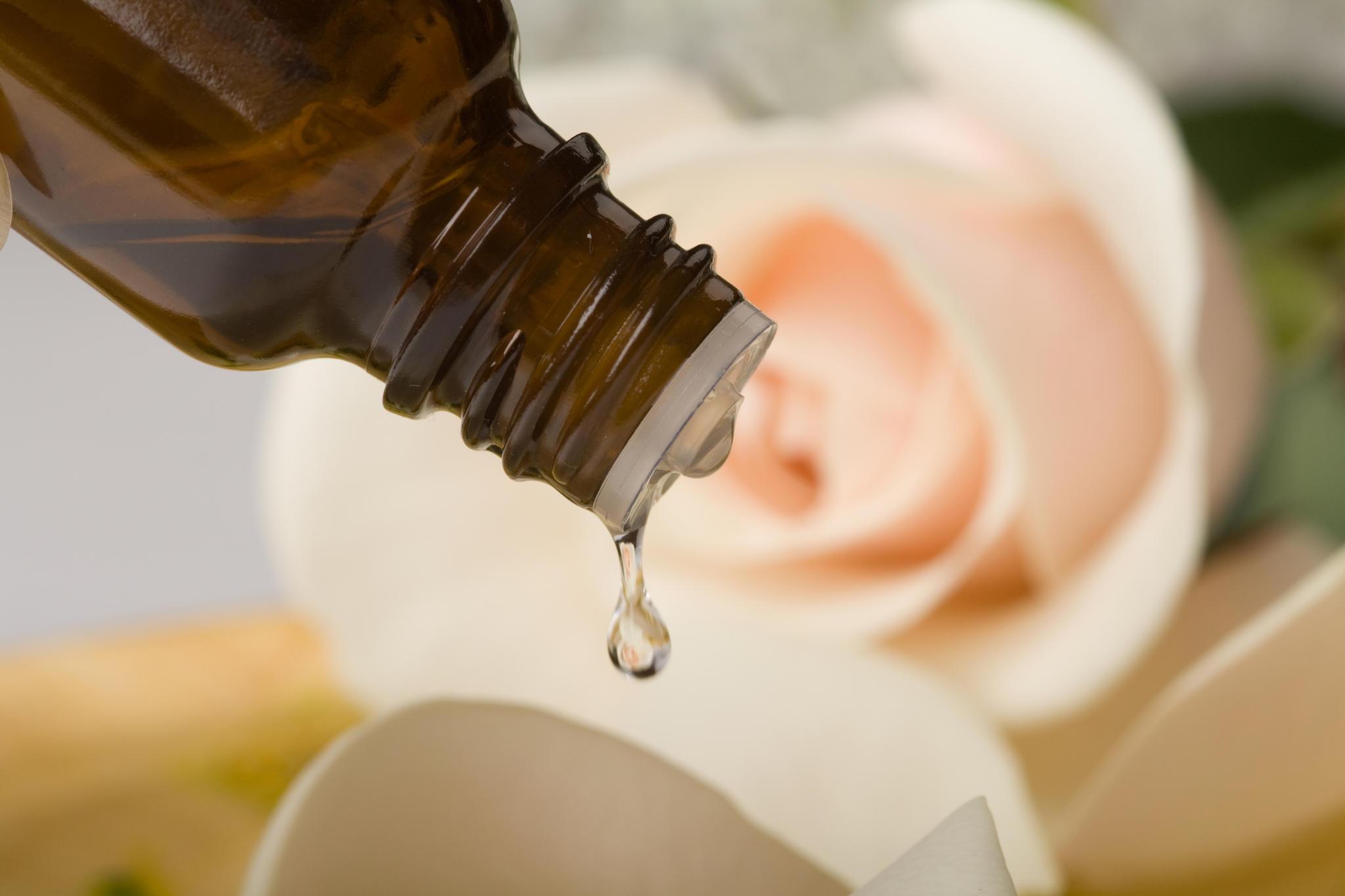 Etherische olie toevoegen aan klei pakkingen