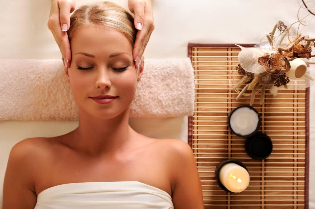 Massage olie met geur