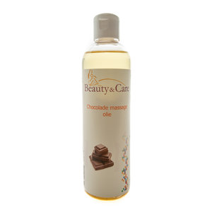 Chocolate massage oil