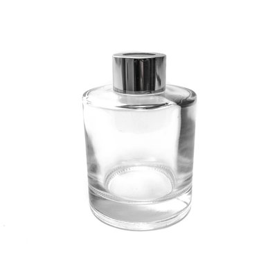 Geurstokjes Fles glas 150 ml met alu dop en sierdop