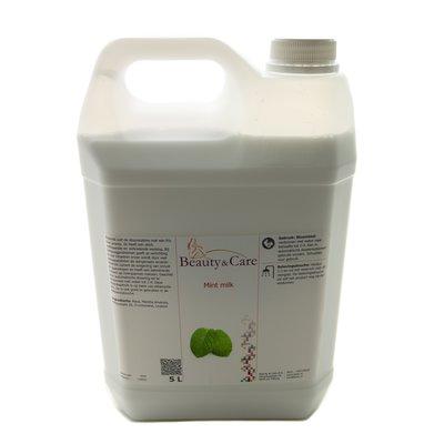 Mint steam bath milk