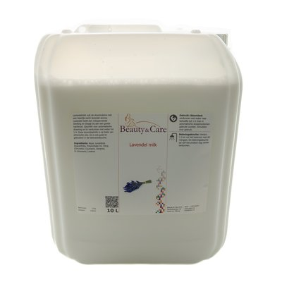 Lavender steam bath milk