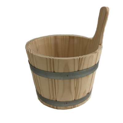 Saunakübel mit Einsatzkübel 5L