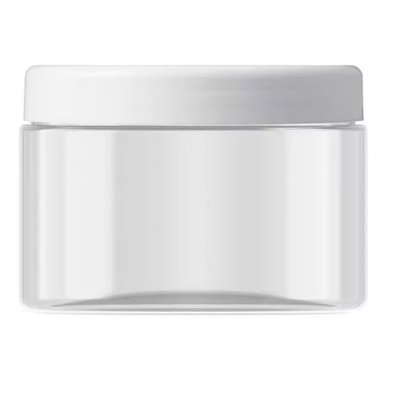 Pot 450 ml. incl. white lid