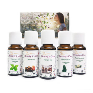 Gift package essential oil base