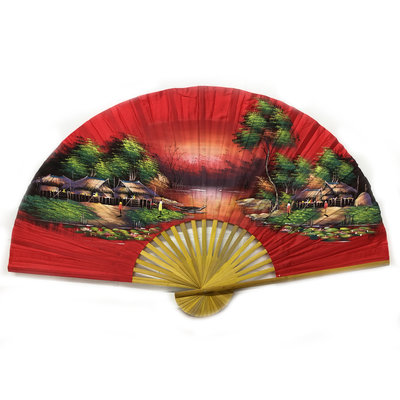 Chinese Fan red 150 cm