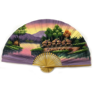 Chinese Fan Brown 150 cm