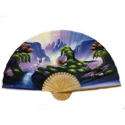 Chinesische Fan Pastell 150 cm