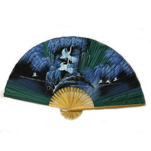 Chinese fan green 150 cm