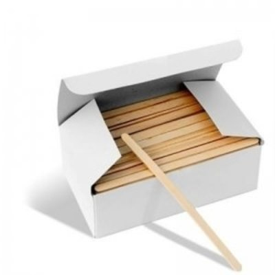 Wooden spatulas small 100 pieces