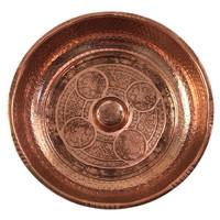 Hamamschaal 20 cm koper
