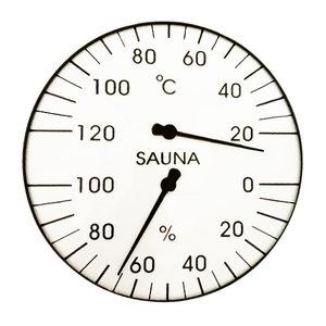 Thermo / Hygromètre environ 160 mm
