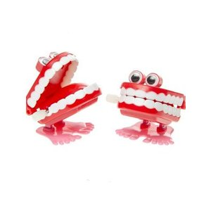 Wind up gebit funny teeth