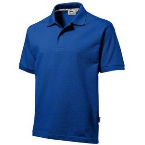Slazenger Slazenger Cotton unisex polo koningsblauw