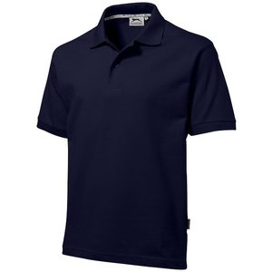 Slazenger Slazenger Cotton unisex polo navy