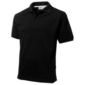 Slazenger Slazenger Cotton unisex polo zwart