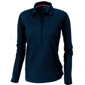Slazenger Slazenger Point damespolo lange mouw navy