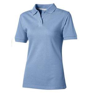 Slazenger Slazenger Cotton damespolo lichtblauw