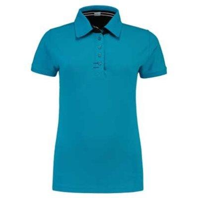 Lemon & Soda L&S Contrast Polo Elasthan turquoise/navy