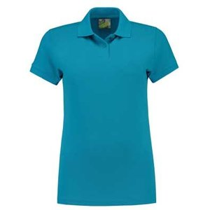 Lemon & Soda L&S Polo Basic Mix 60 graden wasbaar turquoise