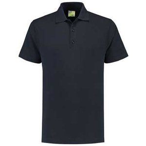 Lemon & Soda L&S unisex polo Basic Mix 60 graden wasbaar navy