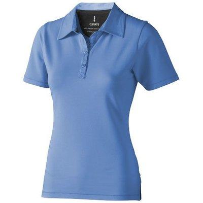Elevate Elevate Markham damespolo elasthan  lichtblauw