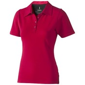 Elevate Elevate Markham damespolo elasthan rood