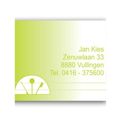 Afspraakkaart AK 015