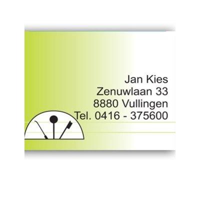 Afspraakkaart TK 008