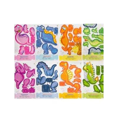 3-D puzzel dino