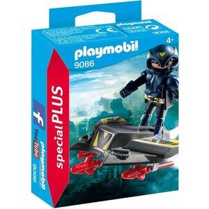 Playmobil Playmobil Plus 9086 Ruimteridder met jet