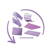 Disposables pakket lila