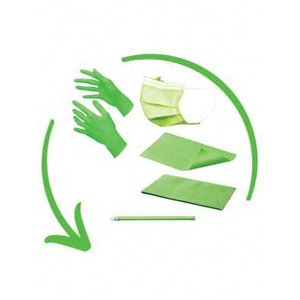 Disposables pakket excl. hoofdsteunzakken fresh green