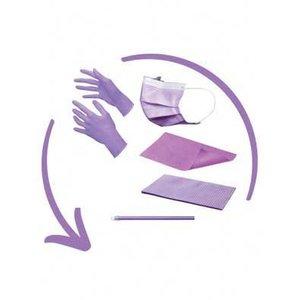 Disposables pakket excl. hoofdsteunzakken lila